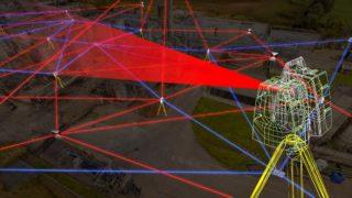 Un scanner laser 3D en action